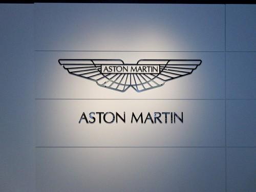 アストン マーティン ロゴ 2010年撮