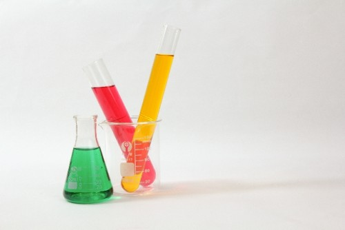 フラスコ 試験 液体