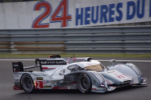 ル・マン アウディR18 e-toron quattro 2012年