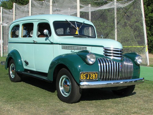 シボレー サバーバン 1941年型