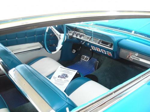 シボレー インパラ 内装 1962年型