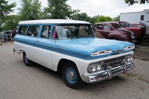 シボレー サバーバン 1961年型