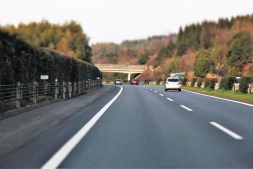 路側帯のある道路