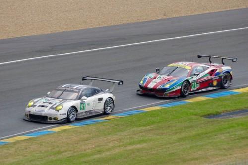 ル・マン ポルシェ 911 RSR フェラーリ 488 GTE