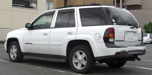 シボレー トレイルブレイザー リア 2002-2005年型