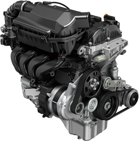 スズキ イグニス K12C型デュアルジェットエンジン