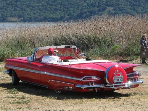 シボレー インパラ コンバーチブル リア 1959年型