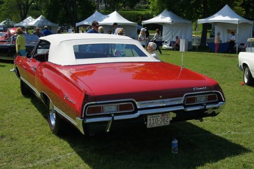 シボレー インパラSS リア コンバーチブル 1967年型