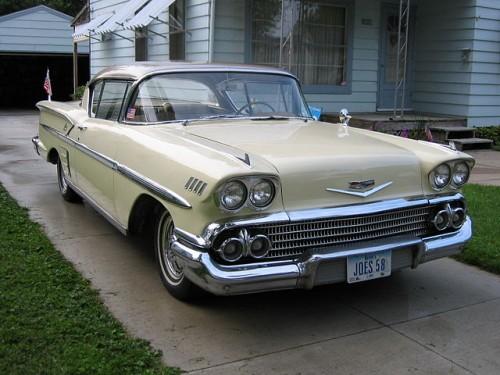 GM シボレー ベルエア インパラ 1958年