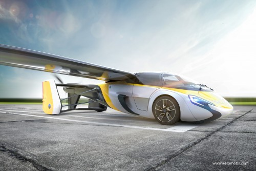 空飛ぶ車 AeroMobil 4.0