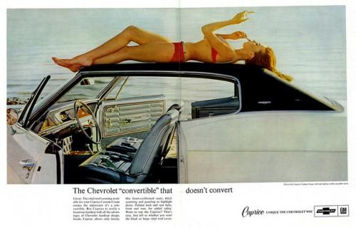 シボレー カプリス コンバーチブル 1966年型