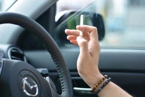 車とたばこ