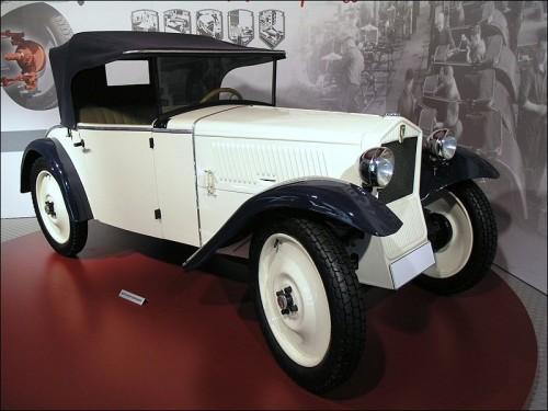 アウトユニオン DKW 1933年型 世界初FF量産車