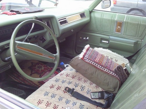 シボレー インパラSS 内装 コンバーチブル 1967年型