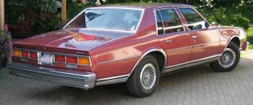 3代目 シボレー カプリス 1979年型