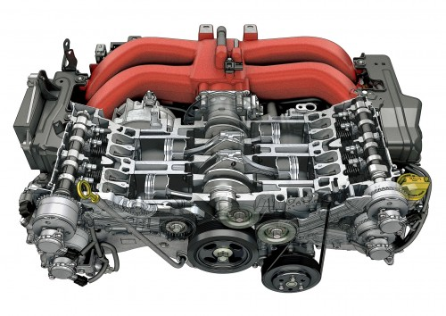 トヨタ 86 エンジン 2016年 D-4S 水平対向4気筒 直噴DOHCエンジン