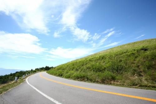 道路 山 ドライブ