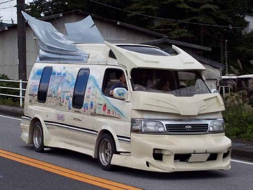 ハイエース バニングカー
