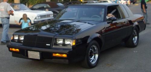 ゼネラルモータース ビュイック グランドナショナル NGX 1987年