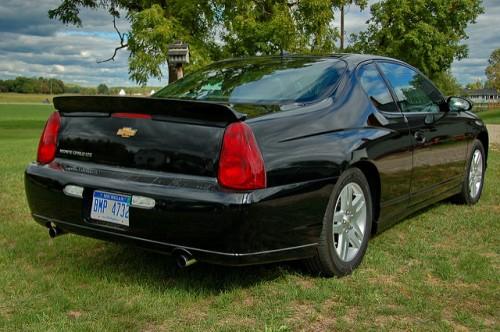 7代目 シボレー・モンテカルロ リア 2005年型