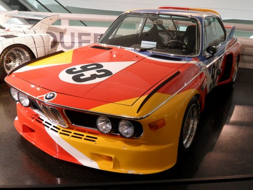 BMW E9CSL アレクサンダー・カルダー仕様 1975年型