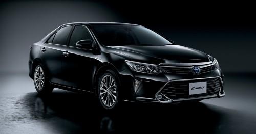 トヨタ カムリ ハイブリッド Gパッケージ PREMIUM BLACK 2015年