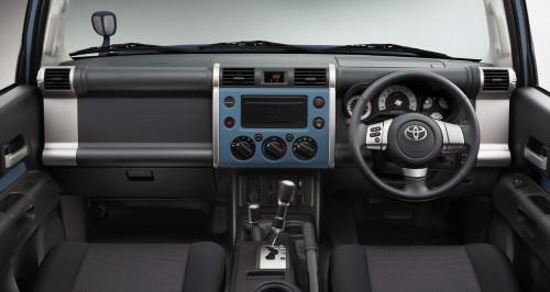 トヨタ FJクルーザー カラーパッケージ 2013年 内装