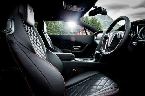 ベントレー コンチネンタル GT スピード 内装