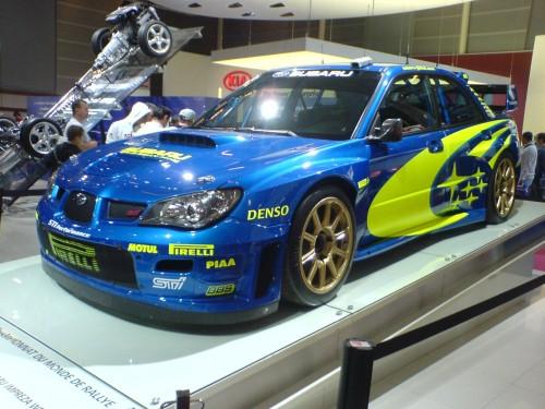 スバルインプレッサWRC 2006年型