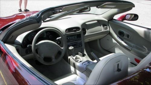 5代目 シボレー コルベット C5型 内装 1997〜2004年