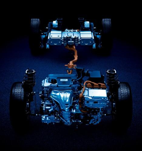 トヨタ ハリアー 2015年 エンジン