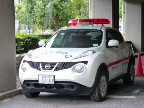 鹿児島市立病院 ドクターカー (日産 JUKE)