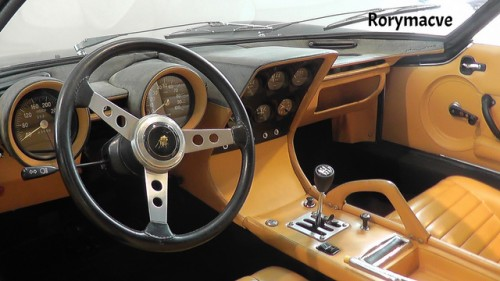 ランボルギーニ ミウラP400