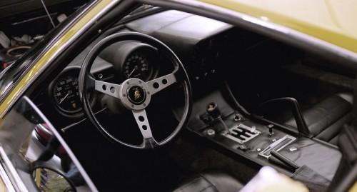 ランボルギーニ ミウラP400S ドライバーズシート