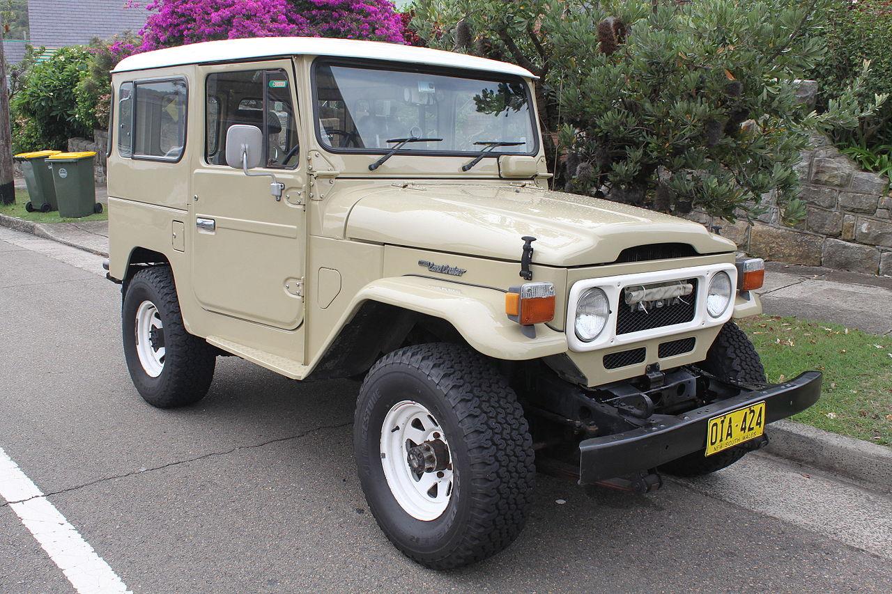 トヨタ ランドクルーザー 初代 40系