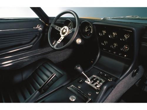 ランボルギーニ ミウラP400SV ドライバーズシート