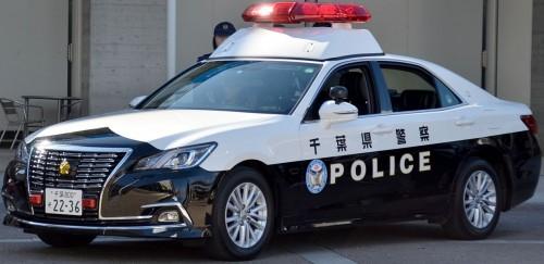 千葉県警パトカー トヨタ クラウン S210 2500CC