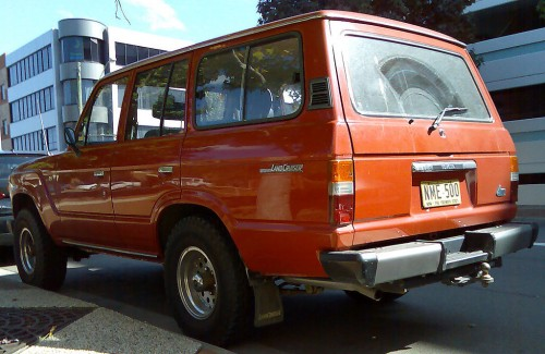 トヨタ ランドクルーザー FJ60 1981–1987