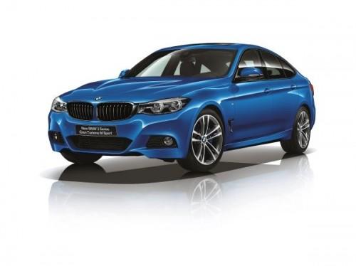 新型BMW 3シリーズ グラン ツーリスモ 2016年