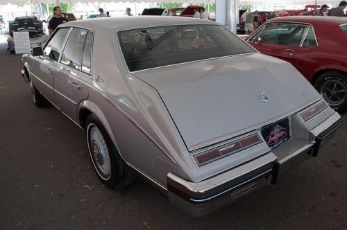 キャデラック セビル 2代目 1984年 リヤ