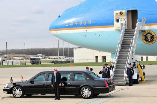 オバマ前大統領のビーストとエアフォース・ワン