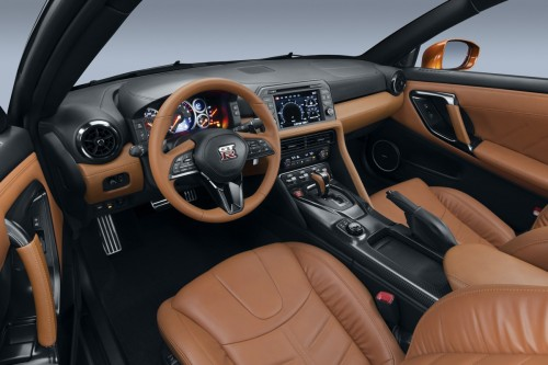 日産 GT-R 2017年型 内装