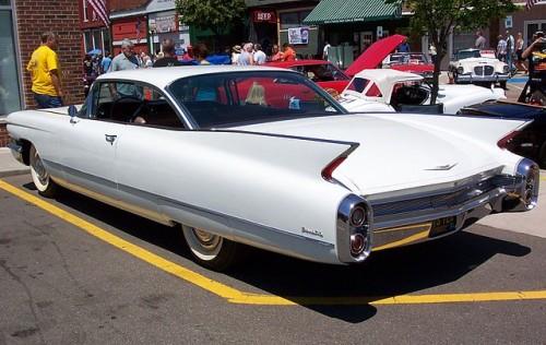 GM キャデラック ドゥビル 1960年 リヤ