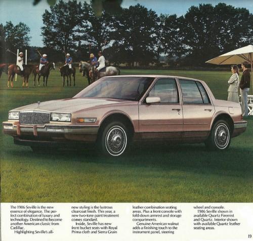 キャデラック セビル 3代目 1986年