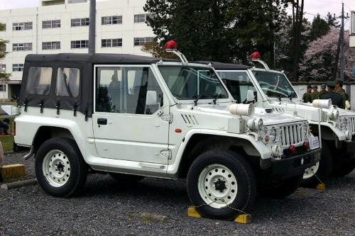 自衛隊警務科車両 73式小型トラック