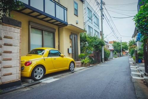 軽自動車 駐車 自宅