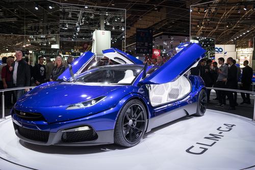 GLM新型G4 パリモーターショー2016