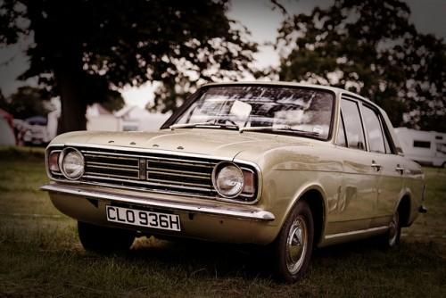 フォード・コンサル・コルチナ 外装1 1968年型