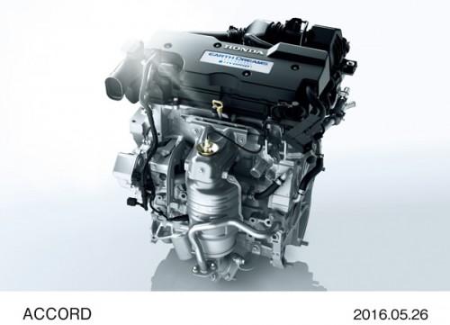 ホンダ アコード 2.0L DOHC i-VTECエンジン 2016年型
