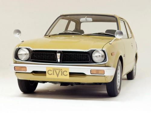 ホンダ・シビック 初代 1972年型